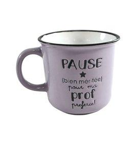 TASSE PAUSE PROF