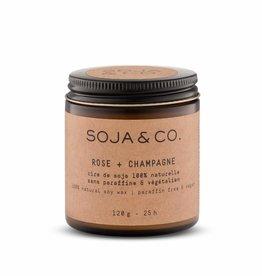 Soja&Co BOUGIE ROSE + CHAMPAGNE