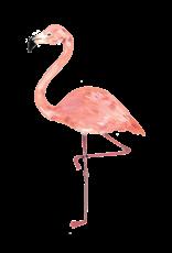 Copy of Tatouages temporaires par Tattly - Ensemble de 2 tatouages: Flamingo par Kelsey Oseid