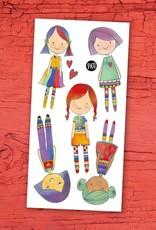 Tatouages temporaires par Pico Tatoo:  Les poupées