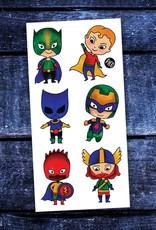 Tatouages temporaires par Pico Tatoo:  Les petits super-héros