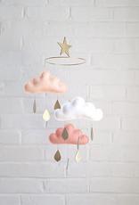 Mobile nuages CLAIRE par The Butter Flying