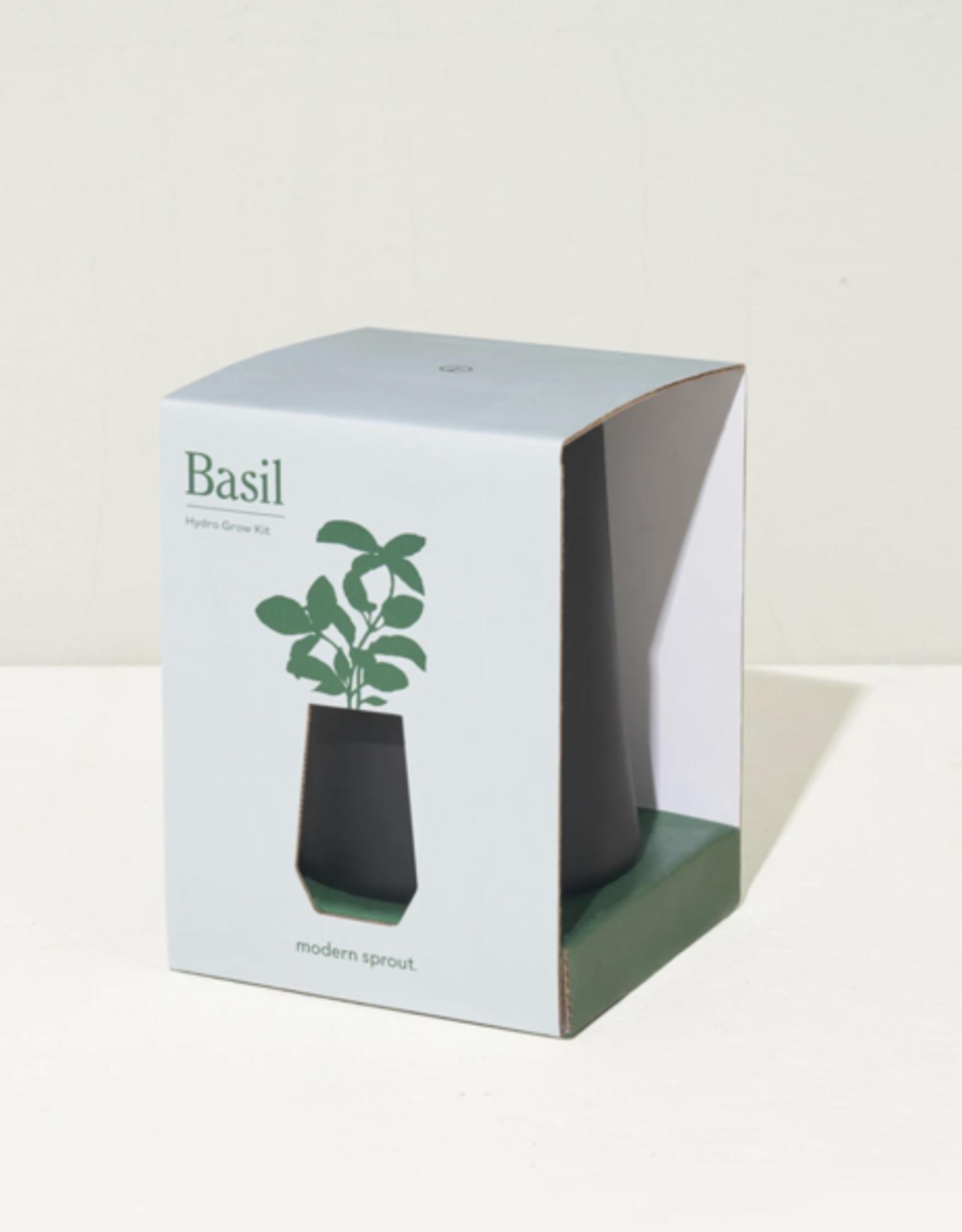 Modern Sprout KIT DE POUSSE : BASILIC