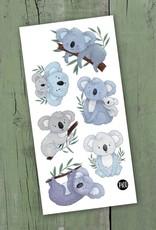 Tatouages temporaires par Pico Tatoo: Lorik le koala