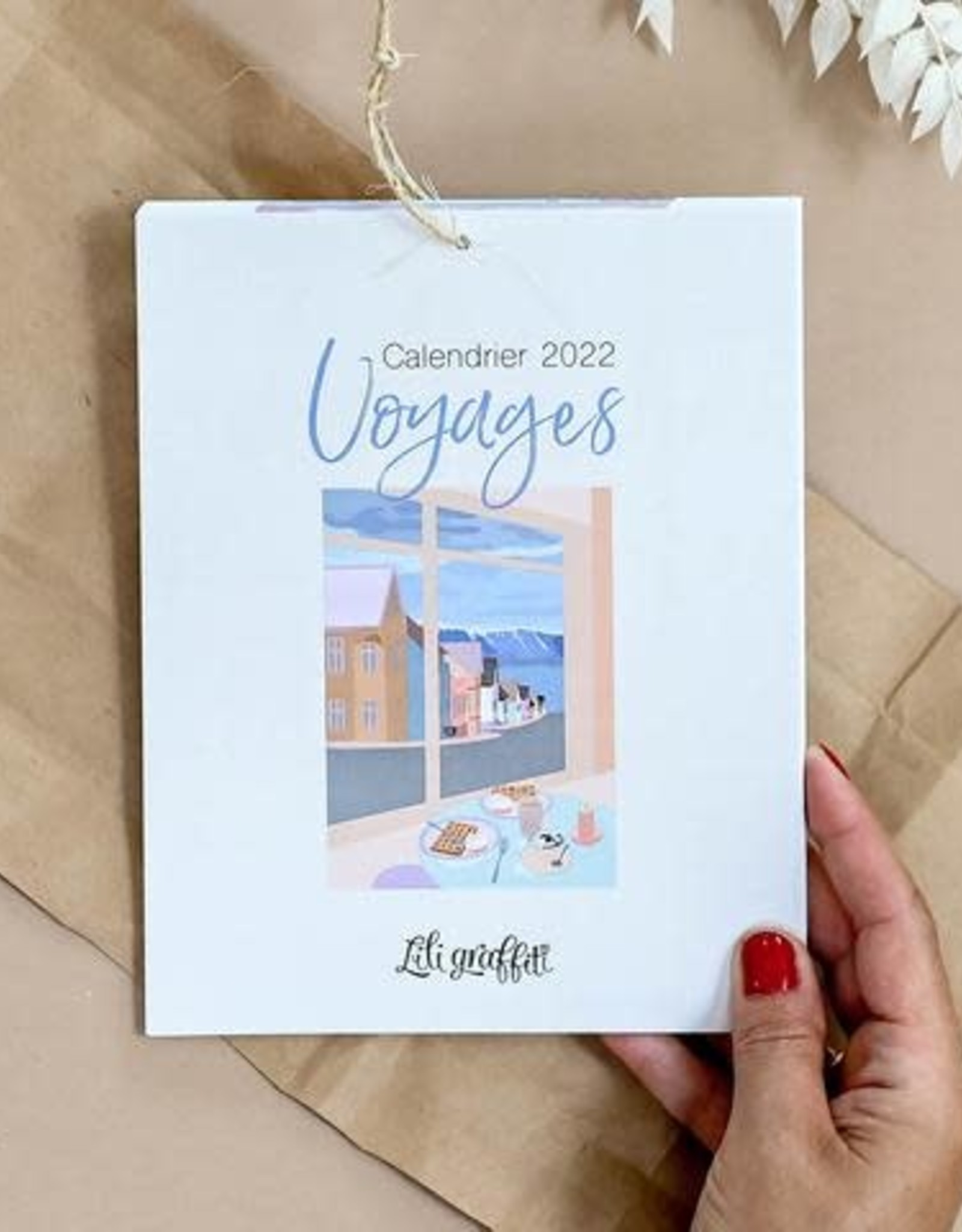 CALENDRIER VOYAGES 2021
