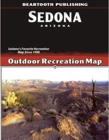 Beartooth Publishing Sedona Hiking Map