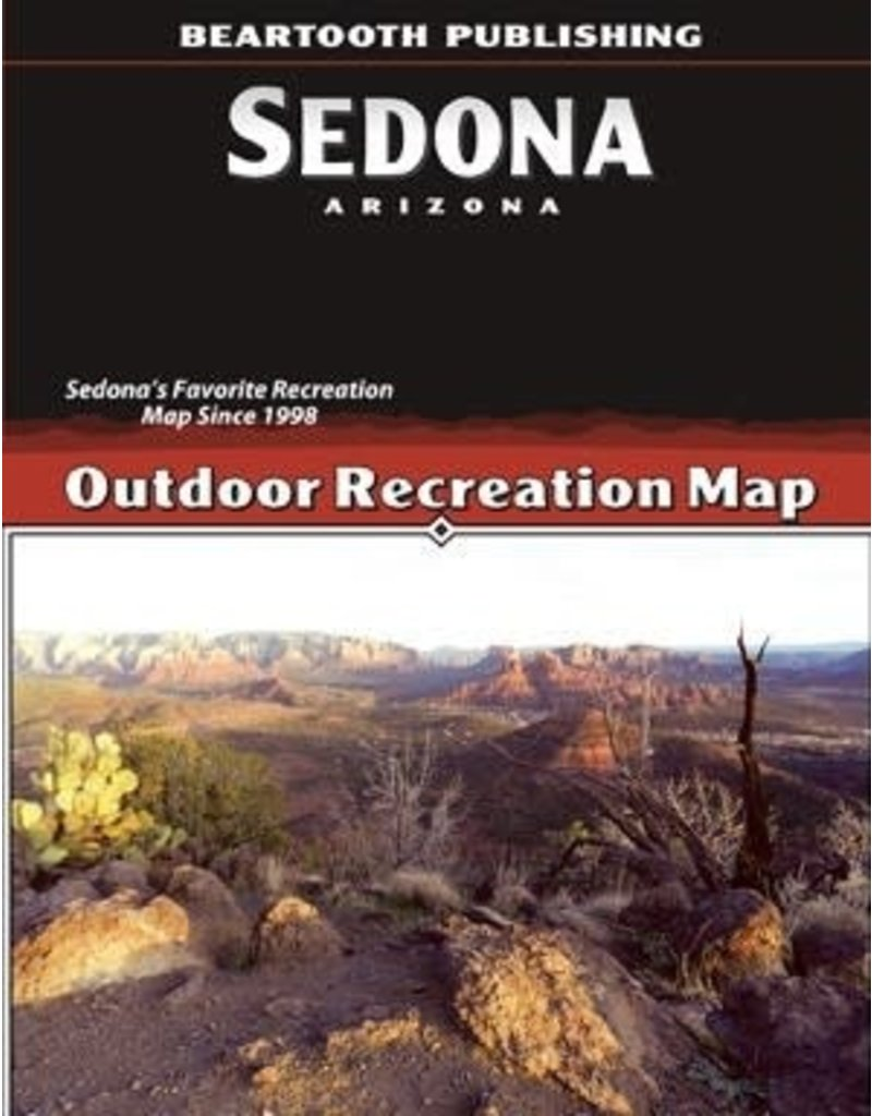 Beartooth Publishing Sedona Hiking Map