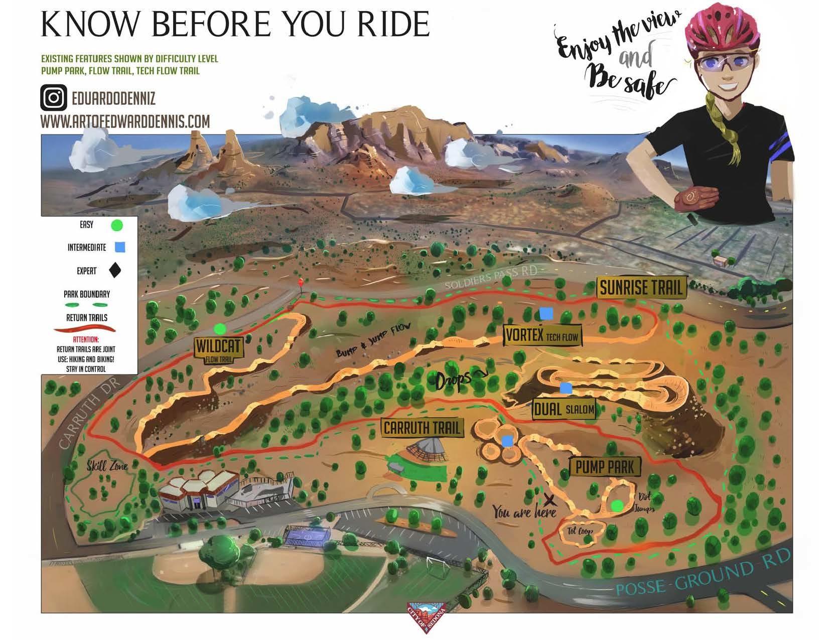 Sedona Bike Skills Park