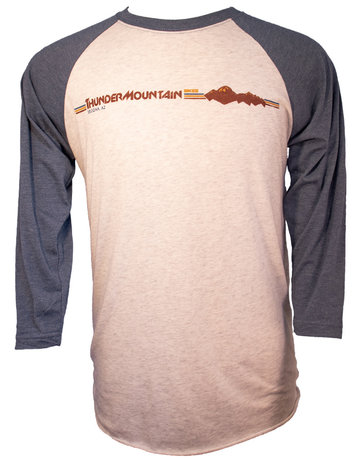 Thunder Mtn Men's & Women's Raglan 3/4 Sleeve Top