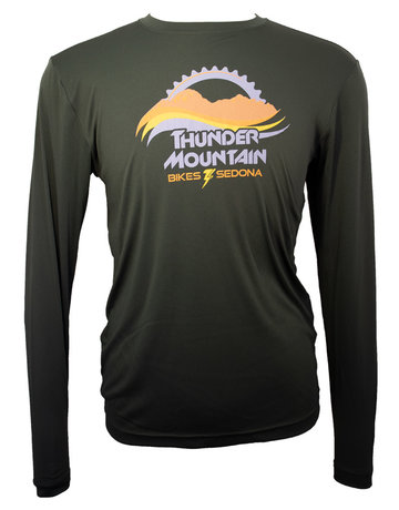 Thunder Mtn Men's Long Sleeve Tech Top