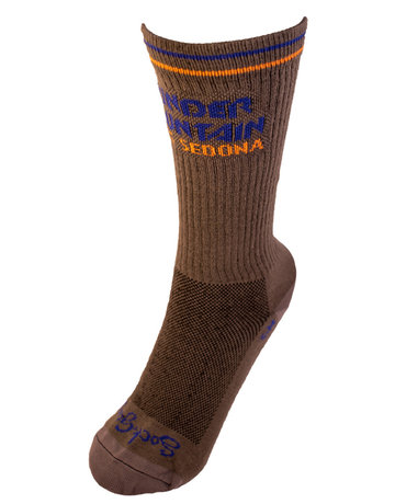 Thunder Mtn Bolt Crew Sock