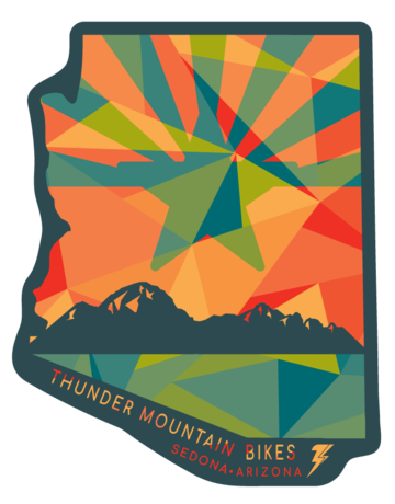 Thunder Mtn Remnant AZ Sticker