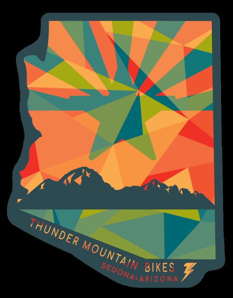 Thunder Mtn Remnant AZ Sticker