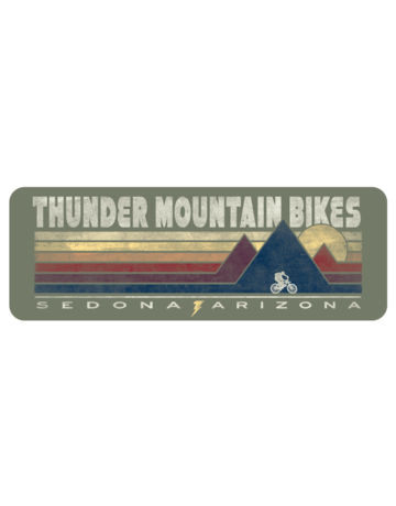 Thunder Mtn Triple Peaks Sticker