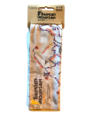 Sedona MTB Trail Map