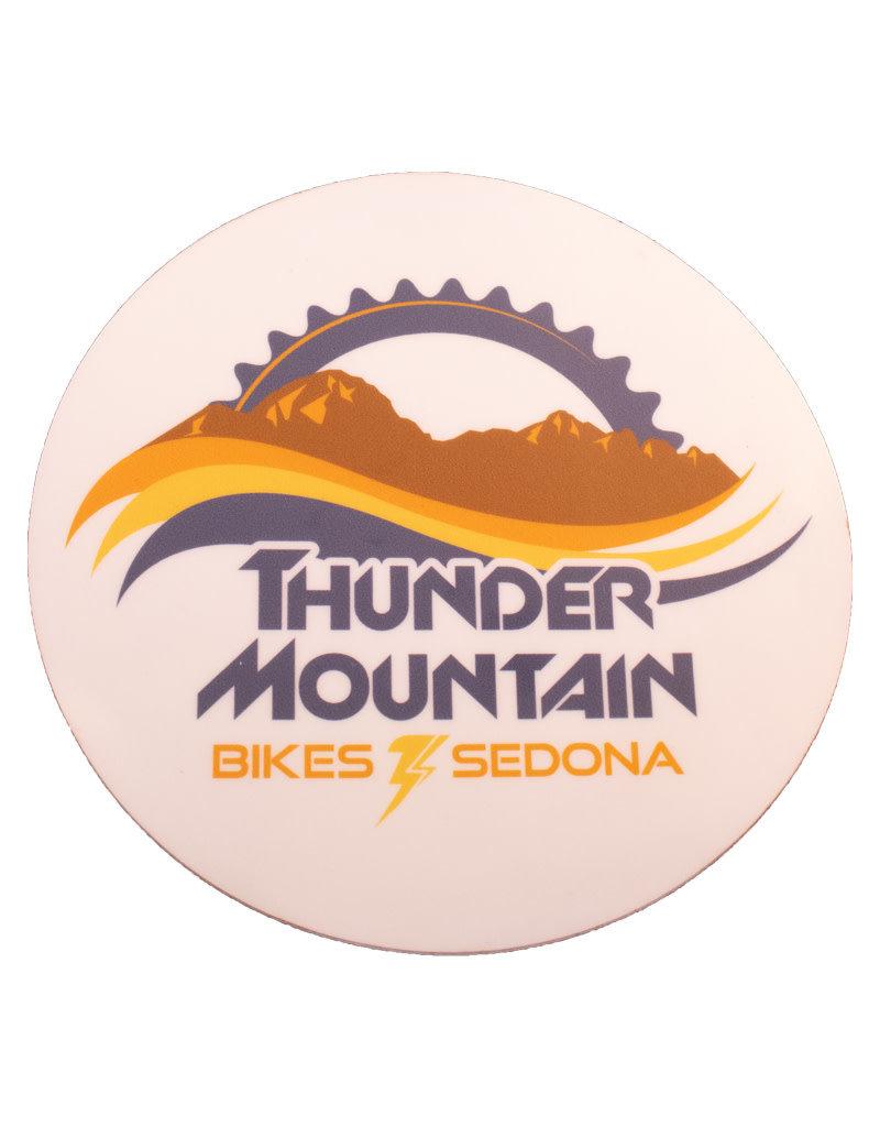 Thunder Mtn Circle Logo Sticker