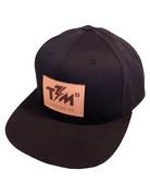 Thunder Mtn Premium Snapback Hat - Leather Appliqué