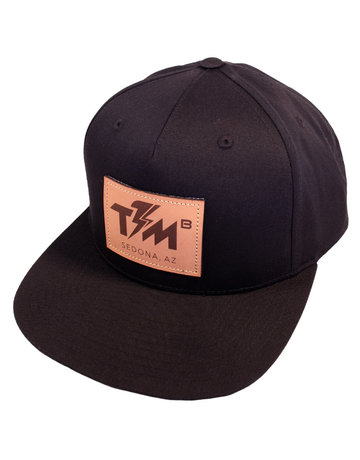 Thunder Mtn Premium Snapback Hat - Leather Appliqué