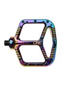OneUp Components Aluminum Flat Pedals - Oil Slick