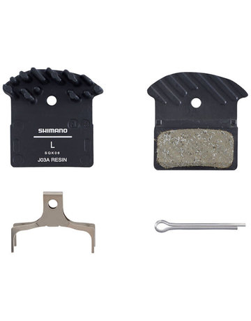 Shimano J03A Disc Brake Pads - Resin/Aluminum