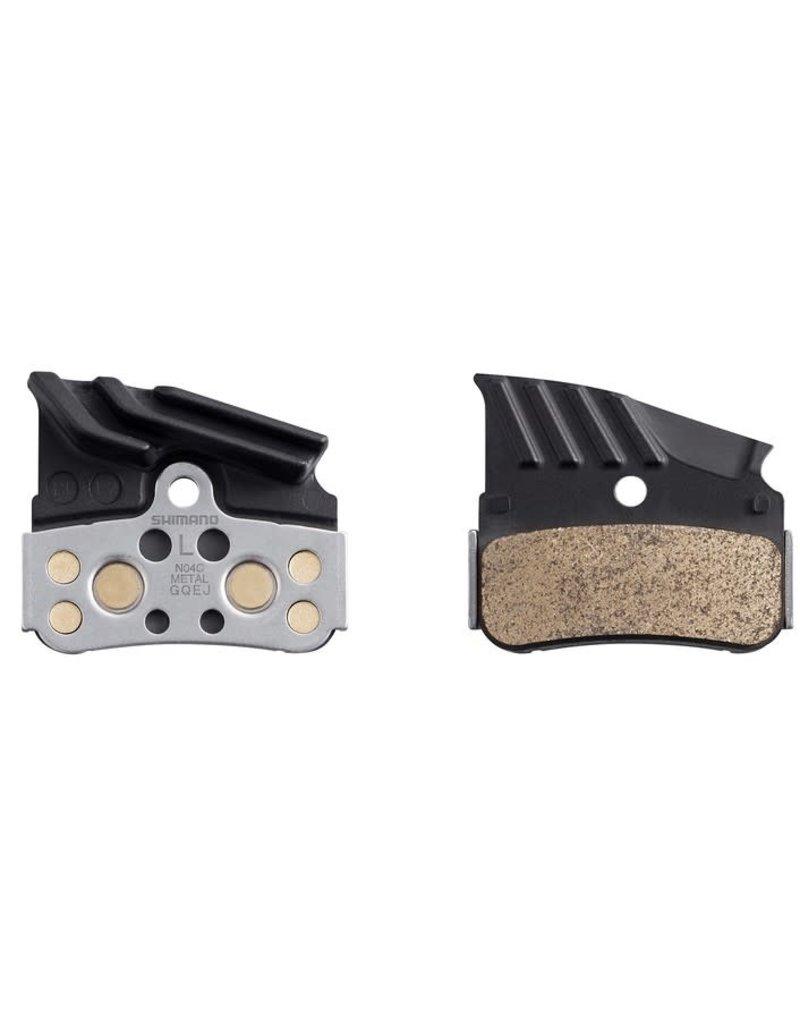 Shimano N04C Disc Brake Pads - Metal/Steel