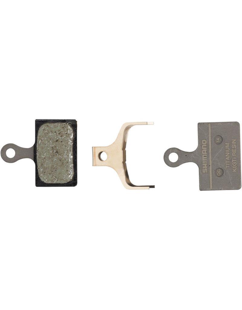 Shimano K03Ti Disc Brake Pads - Resin/Titanium