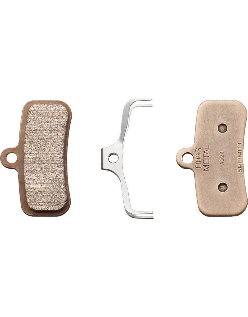 Shimano D02S Disc Brake Pads - Metal/Steel