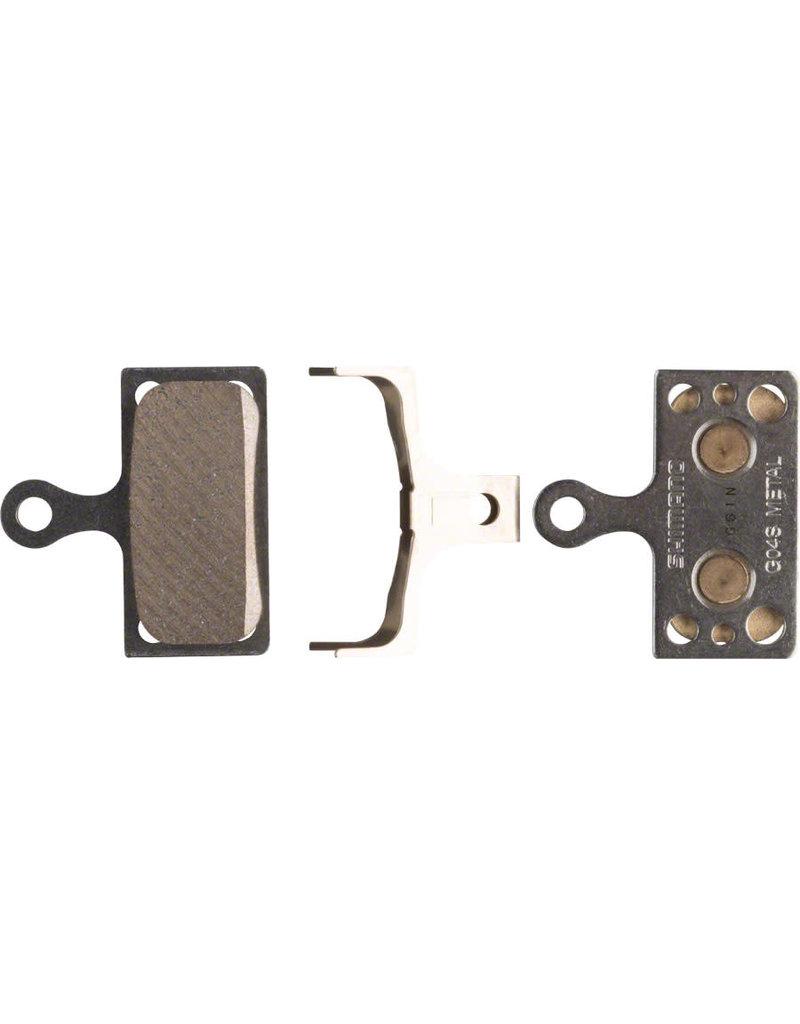 Shimano G04S Disc Brake Pads - Metal/Steel