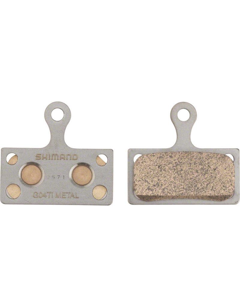 Shimano G04Ti Disc Brake Pads - Metal/Titanium