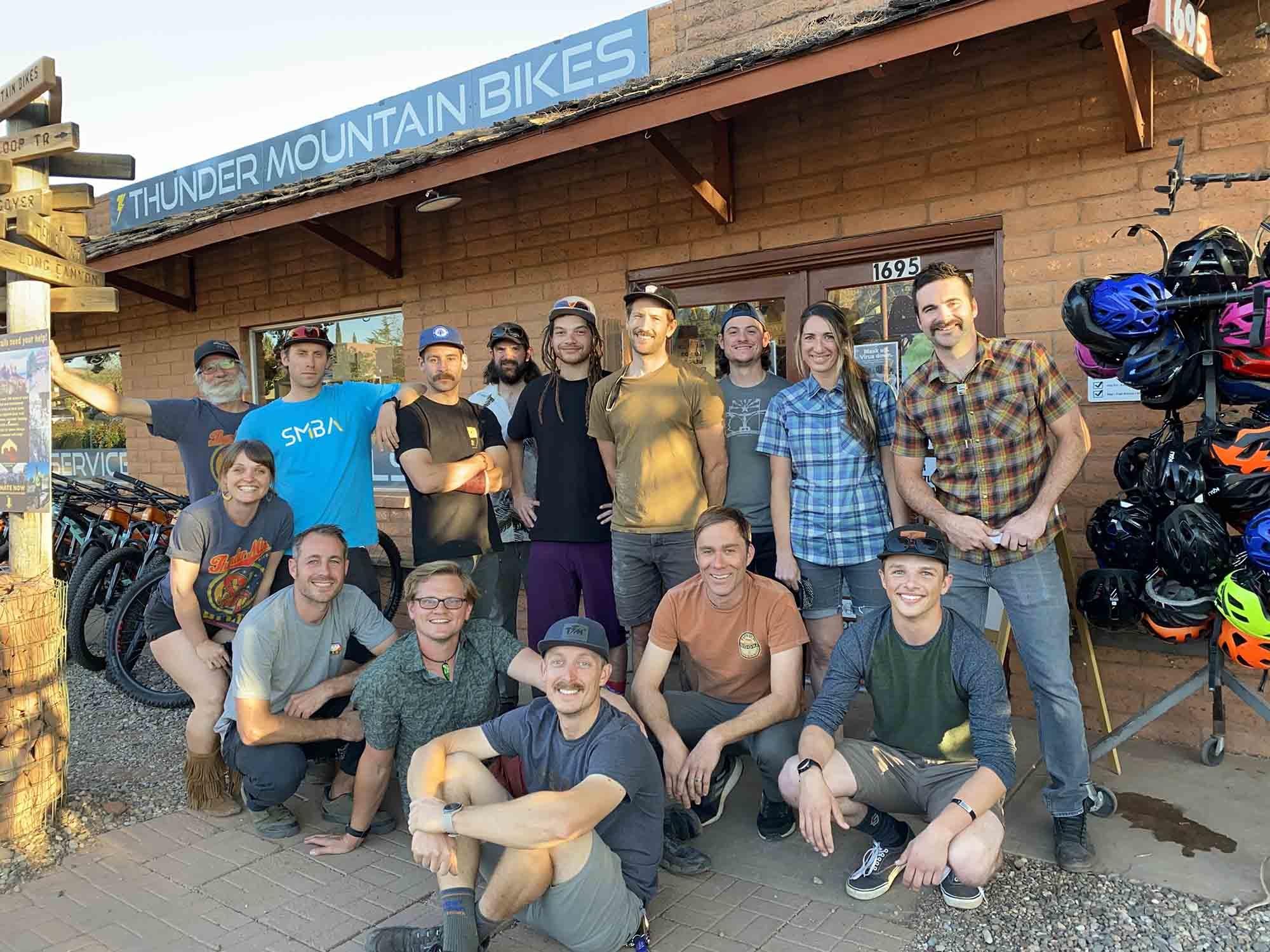 Meet the Thunder Mountain Bike Team in Sedona, Arizona