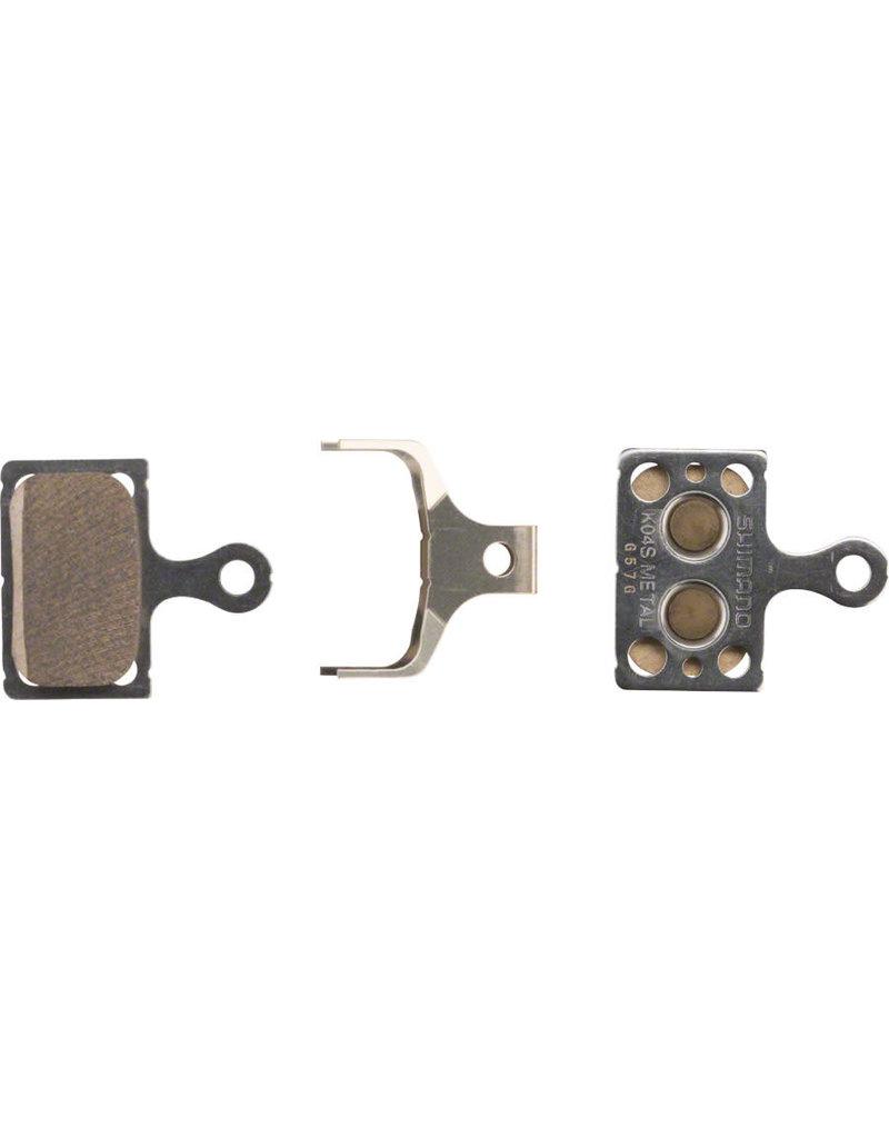 Shimano K04S Disc Brake Pads - Metal/Steel