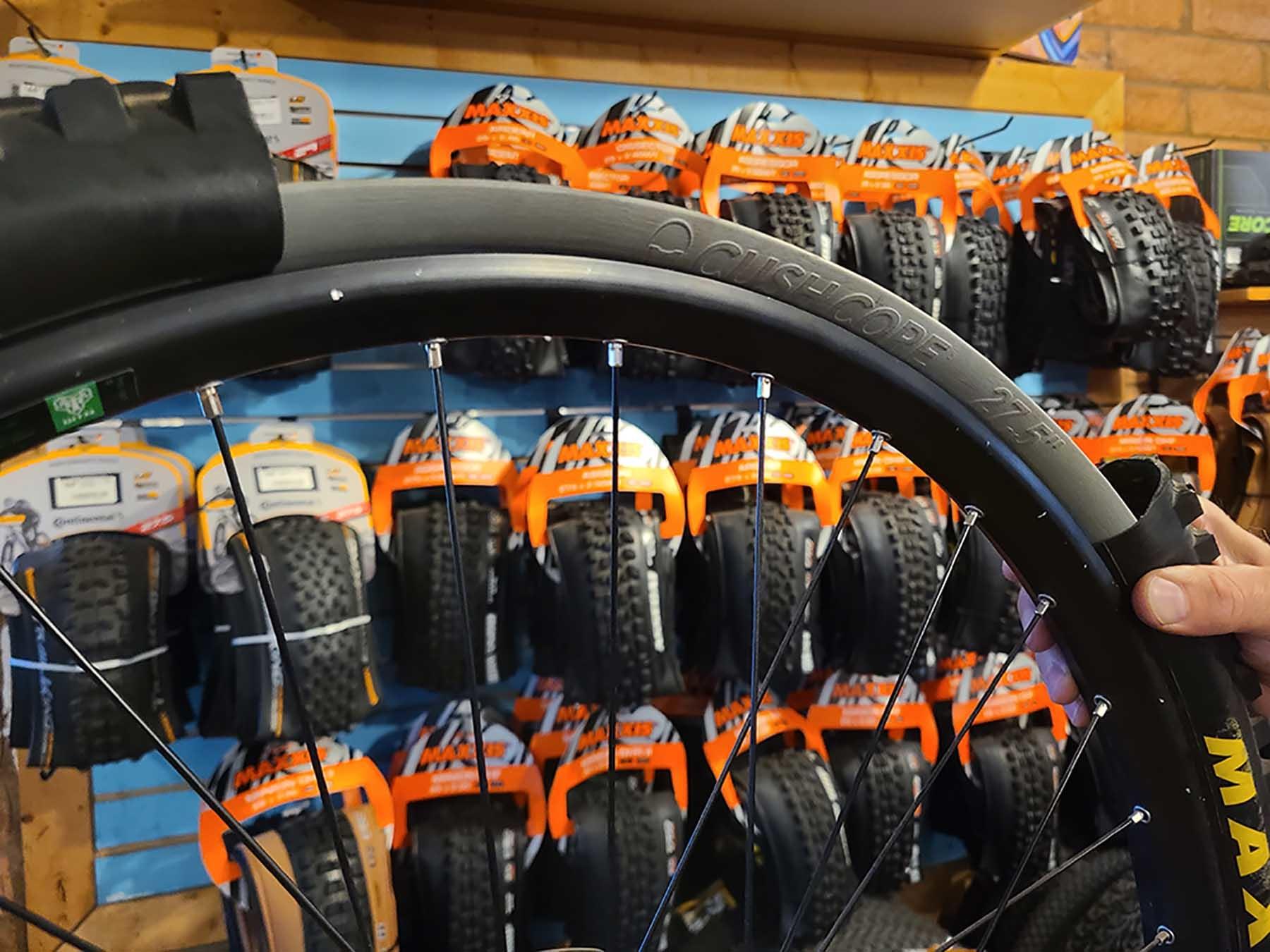 mountain bike tire inserts