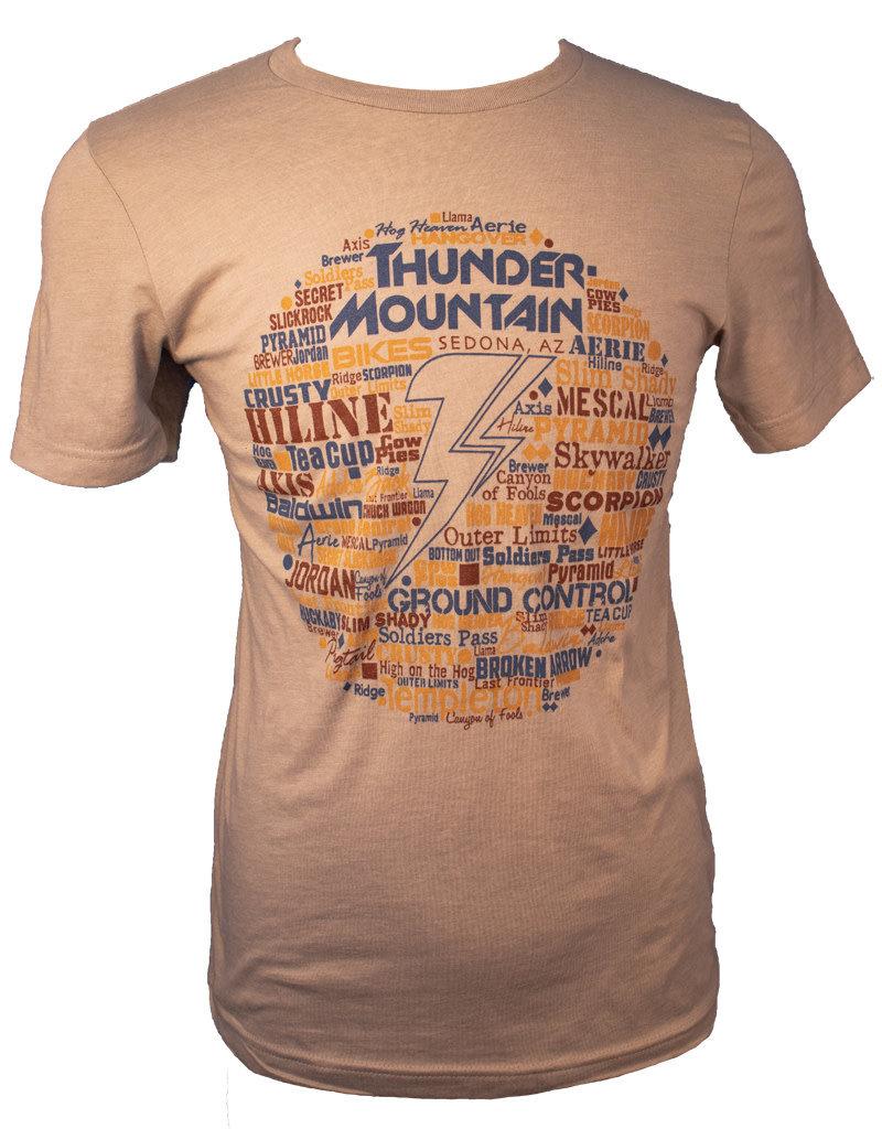 Thunder Mtn Men's Bolt Trails T-Shirt