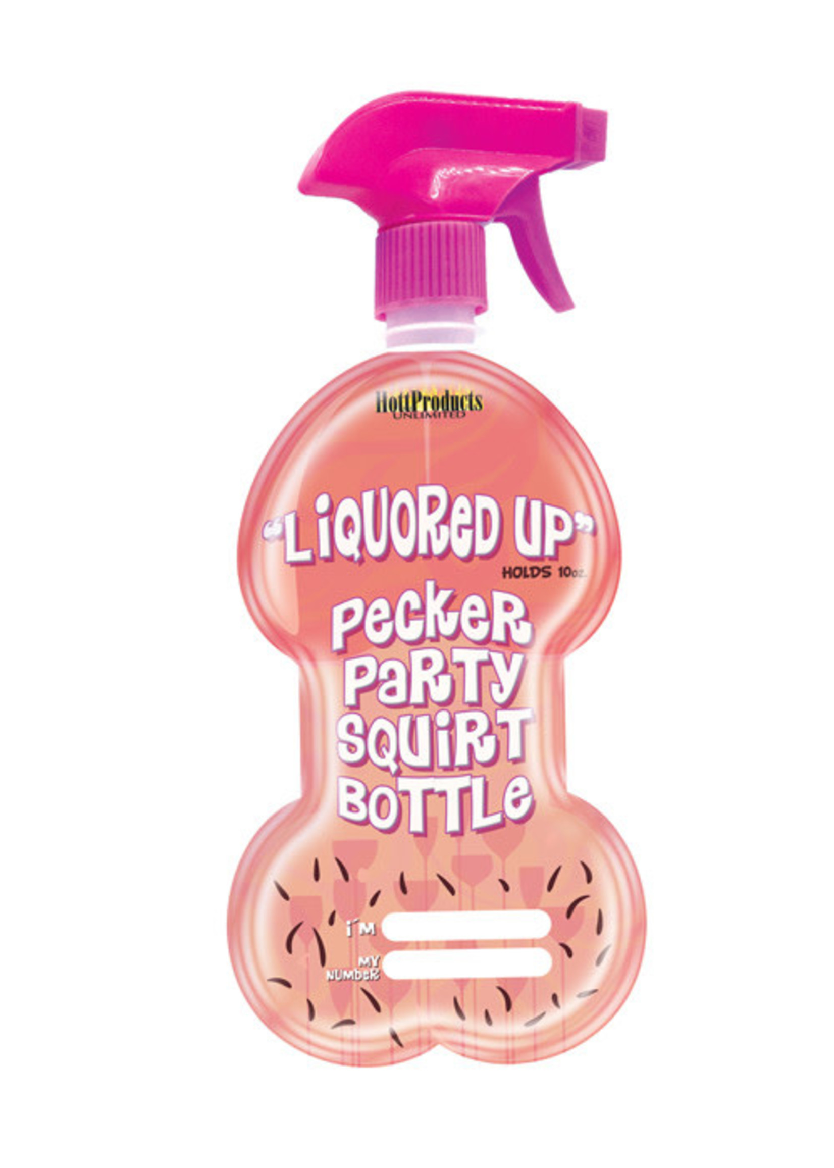 Liquored Up Pecker Party Squirt Bottle - Naughty Time