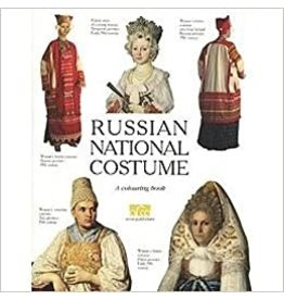 Russian National Costume Coloring Book