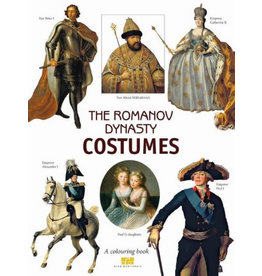 Romanov Dynasty Costumes Coloring Book