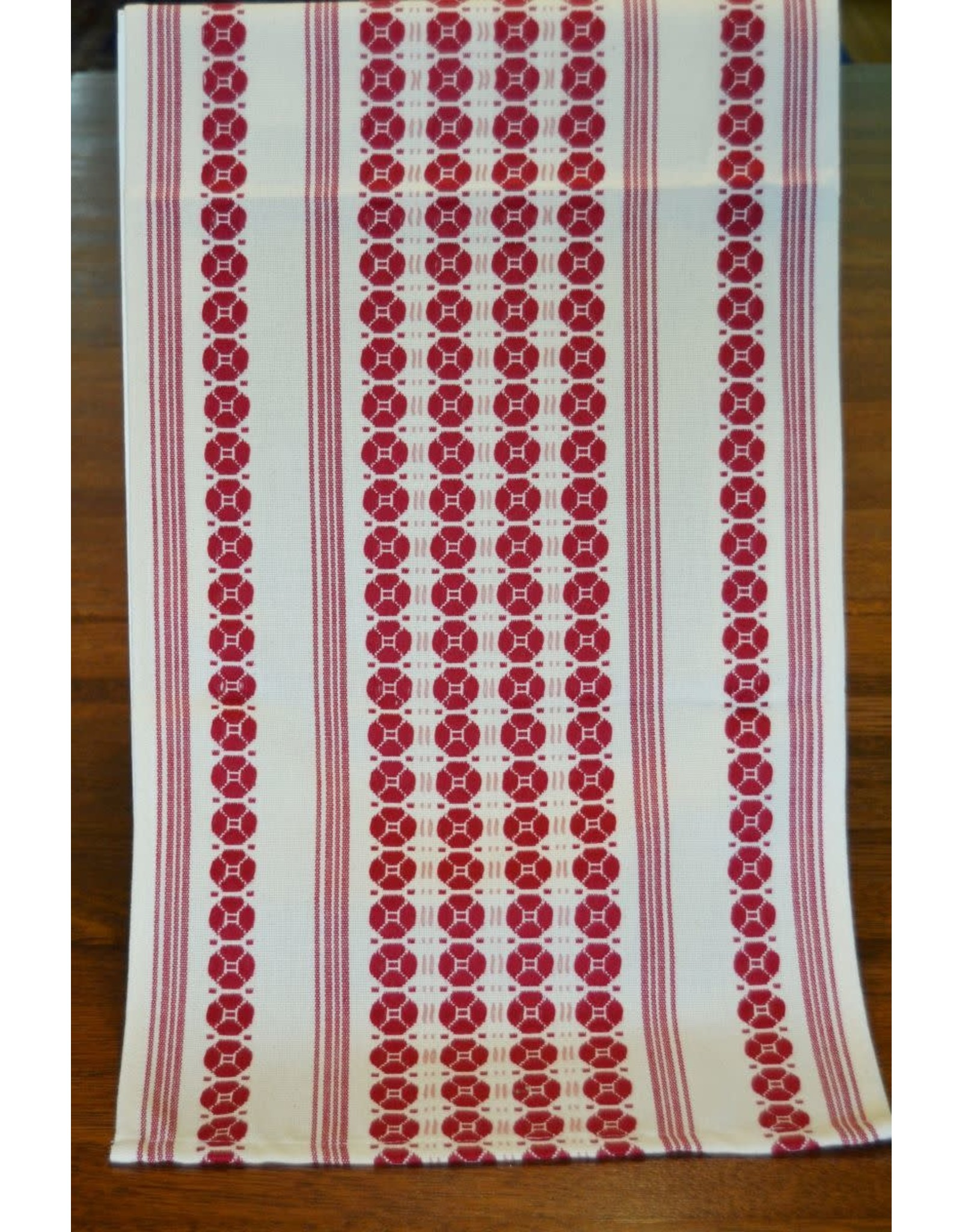 "Flora Table Runner Magenta  (36"")"
