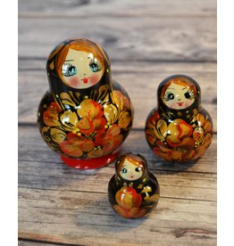 Floral Matryoshka Small