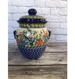 Kalich  Blue Jar with Birds