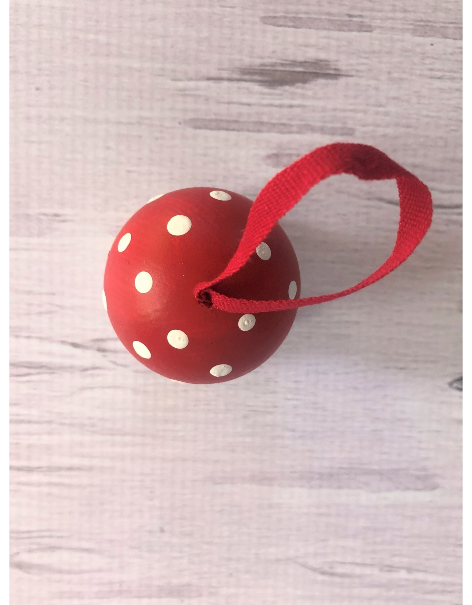 Red Toadstool Mushroom Ornament