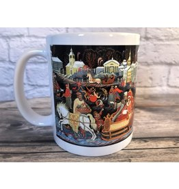 Russian Palekh Winter Mug