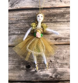 Fancy Ballerina Ornament