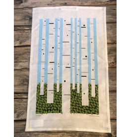 Birch Forest Tea Towel