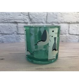 Birch Forest with Birds Candle Holder