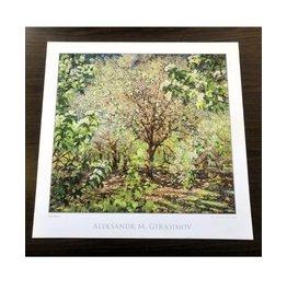 Trees In Bloom Print