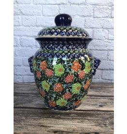 Kalich Jar with Strawberries