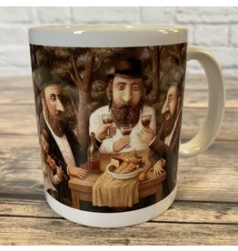 Traditional Jewish Motifs Mug