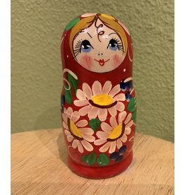Matryoshka with Sunflowers (Three-Piece)