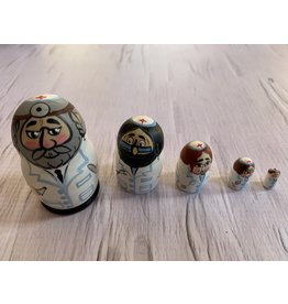 Mini Jewish Surgeon Matryoshka