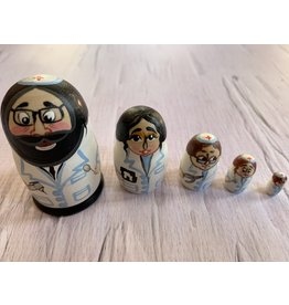 Mini Jewish Dentist Matryoshka